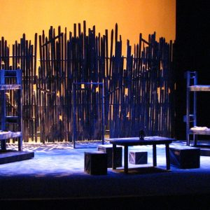 Of Mice and Men ICT, January 2010 Scenic Design by Ellen Mizener Directed by Charles Ballinger