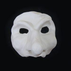 Commedia-Style Mask